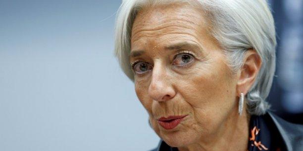 A la tête du FMI, Christine Lagarde est critiquée depuis plusieurs semaines par la Grèce, qui lui reproche d'adopter une ligne trop dure vis-à-vis d'elle.