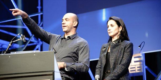En 2012, Géraldine et Loïc Le Meur (ici lors de LeWeb 11) avaient annoncé la cession de 80% de Business Pace, la société organisatrice de LeWeb.