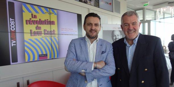 L'antenne est dirigée par Daniel Damien, directeur général de LowCost360. Jean-Paul Tréguer assure la présidence (de gauche à droite).