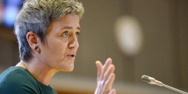 La commissaire à la concurrence, Margrethe Vestager