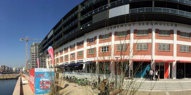 Le bâtiment du Shadok, friche industrielle au centre de Strasbourg, a été réaménagé sur 2000 mètres carrés pour 6,3 millions d'euros.