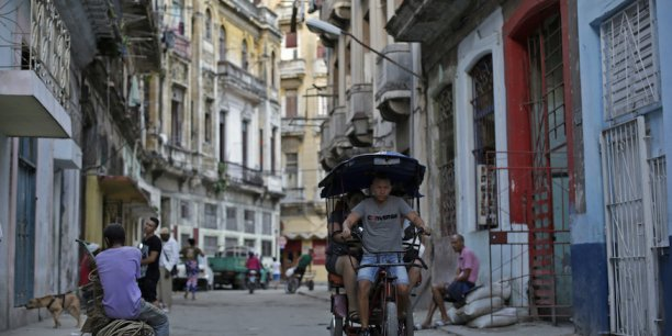 Une rue de La Havane.