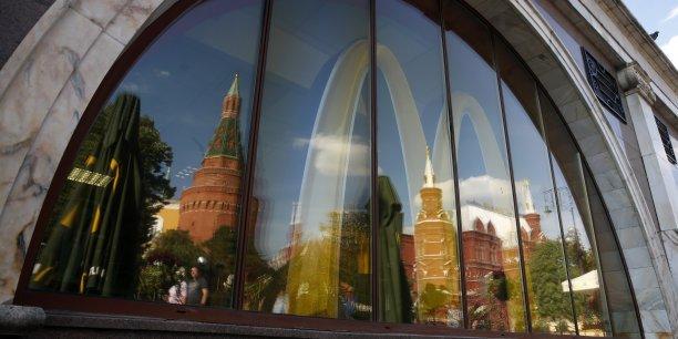 La chaîne de fast food américaine fait office pour certains responsables russes de symbole de l'influence étrangère néfaste et de mode de vie malsain.