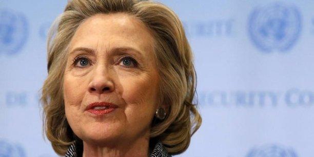 Hillary Clinton est loin d'être en froid avec Wall Street.