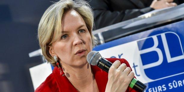 Virginie Calmels, tête de liste LR aux régionales en Aquitaine, Limousin, Poitou-Charentes