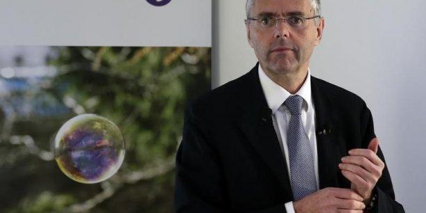 Michel Combes, le directeur général d'Alcatel-Lucent, souhaite bon vent et longue vie au projet Nokia.