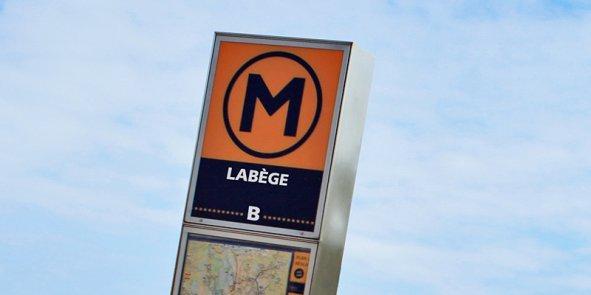 La ligne B du métro doit arriver à Labège d'ici à 2020 (photomontage)