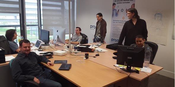 Pradeo est spécialisée dans la sécurisation des applications mobiles