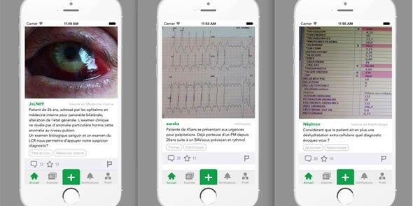 Sur MedPics, 145 000 photos sont vues chaque semaine par des professionnels de santé.