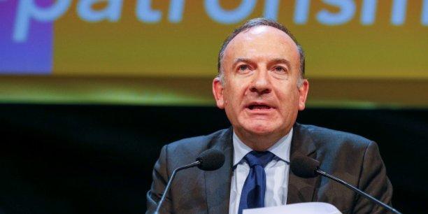 Seuls 15% des Français disent avoir une bonne opinion du président de l'organisation patronale.