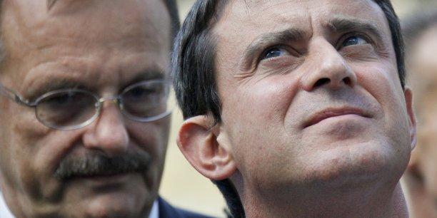 Jean-François Carenco (à g.) est un homme affable, il intègre vite les dossiers et n'a pas une réputation de mollesse. Le genre de préfet dont Manuel Valls a besoin pour éviter un nouvel enlisement du Grand Paris.