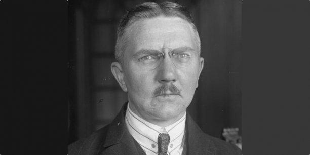 Hjalmar Schacht, un banquier génial, mais très controversé.