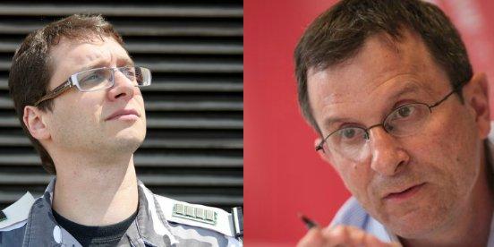 Xavier Mouton-Dubosc et Christophe Borgel