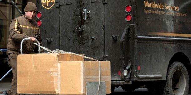 L'action UPS prenait 1,2%, à 102,69 dollars, vers 18h14 (heure de Paris).