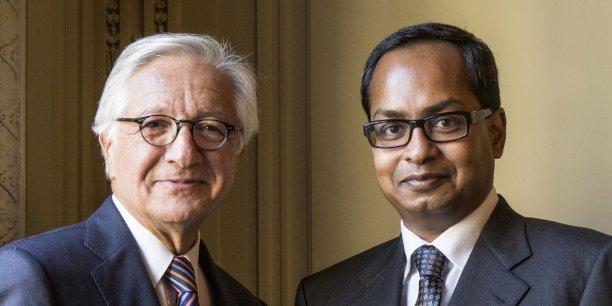 Christian Blanckaert et Ashok Som