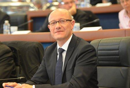 Jean-Luc Gleyze président du Département de la Gironde.