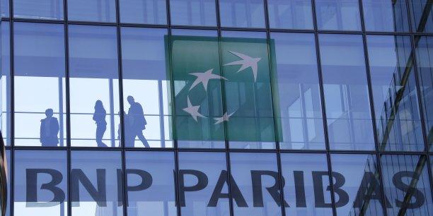 Entre janvier et mars, le produit net bancaire de BNP Paribas affiche une progression de 11,6% à 11,07 milliards d'euros.
