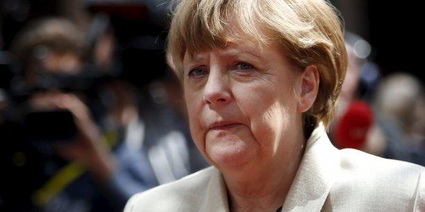 Angela Merkel plaide pour de rapides négociations avec Barack Obama sur le traité transatlantique.
