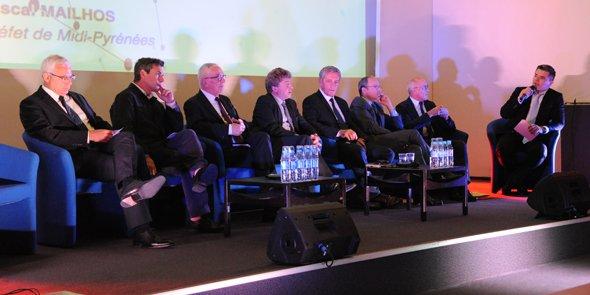 Le débat a réuni les acteurs politiques et économiques des deux régions.