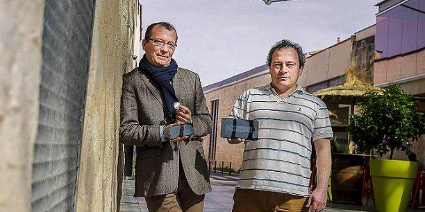 Nicolas Bournet et Serge Chaumette