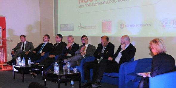 La 2e table ronde a donné la parole aux acteurs économiques des deux régions.