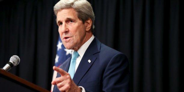A quelques semaines de la Conférence de Paris, John Kerry a plaidé pour que tous les pays soient sur la même longueur d'onde afin d'obtenir un accord ambitieux, durable et pour le plus grand nombre.