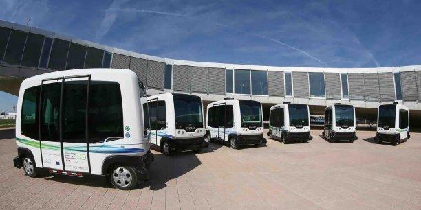 Le véhicule autonome EZ-10