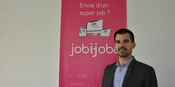 Thomas Allaire, PDG de Jobijoba.