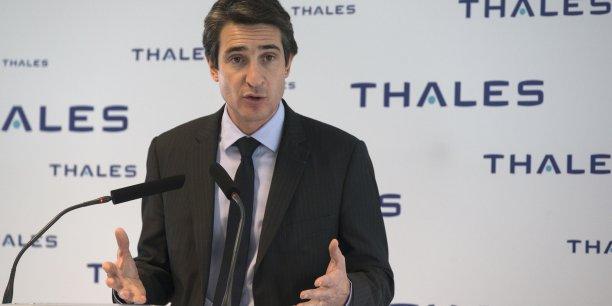 Pour le nouveau PDG de Thales Patrice Caine, tous les clignotants du groupe sont au vert