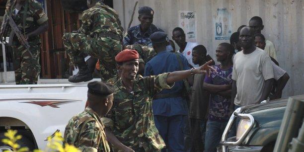 Suite aux violences et manifestations de ces dernières semaines, plus de 105.000 habitants (sur plus de 10 millions) ont fui le pays.