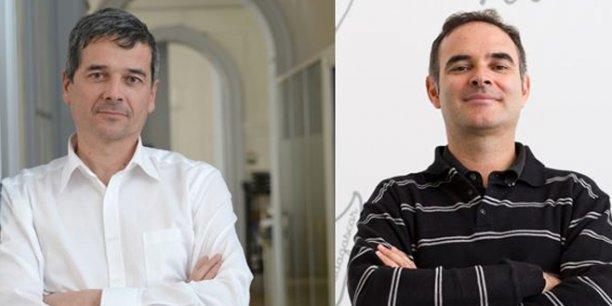 Franck Renaudin et Manuel Patrouillard