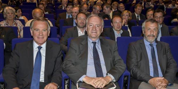 Jack Bouin, Hubert Védrine, Rémi Garuz