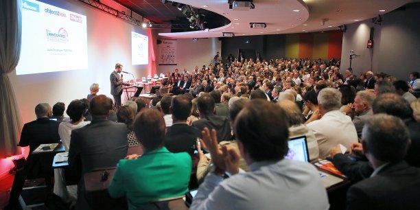 Salle comble pour le 2e volet des Rencontres de la future région à Toulouse ce lundi 18 mai 2015.