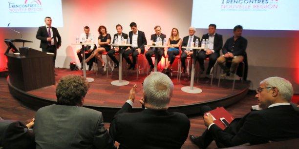 Les chefs d'entreprise ont pu s'exprimer sur leurs attentes au sujet de la future région le 18 mai à Toulouse