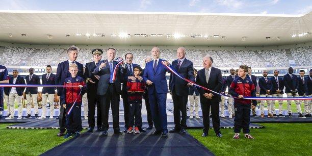 Inauguré en grande pompe, le nouveau stade est sans doute le partenariat public-privé le plus décrié par la gauche municipale bordelaise.