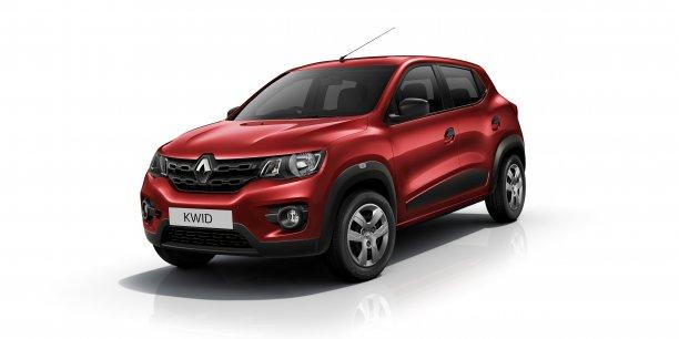 Le Kwid affiche une allure de SUV sur une envergure de petite citadine (à peine 10 cm de plus qu'une Twingo III), à un prix très serré.