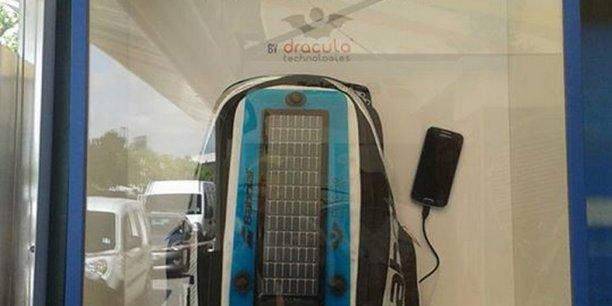 Depuis 2012, la startup Dracula Technologies développe un panneau photovoltaïque de troisième génération.