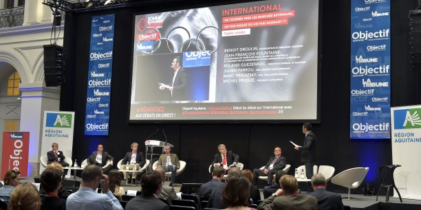 La deuxième session était consacrée à l'international.