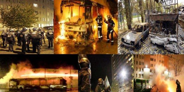 Émeutes de 2005 dans les banlieues françaises.