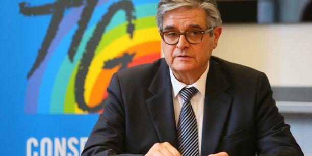 Georges Méric, président du Conseil départemental de Haute-Garonne.