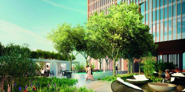 Situé à Stratford, dans l'est de la capitale, le quartier où se sont déroulés les Jeux olympiques de 2012, ce projet représente une valeur brute de développement de 340 millions d'euros.