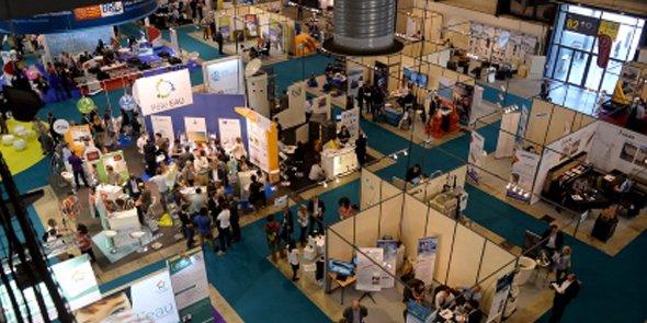 La 5e édition d'Hydrogaïa a accueilli environ 150 exposants.