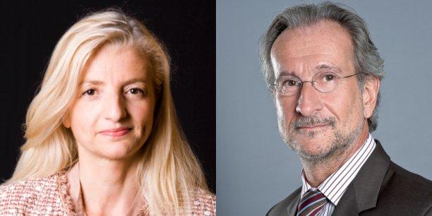 Marie Albertni et Benoît Charot