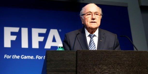 Joseph Blatter avait été réélu vendredi 29 mai sur fond de scandale de corruption.