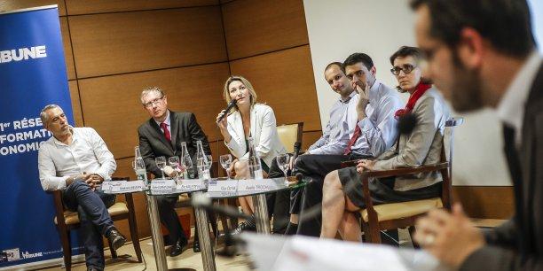 David Pierre, Stéphane Méjean, Florence Duprat-Cerri, Eric Malézieux, Guy Oliva et Axelle Trochu