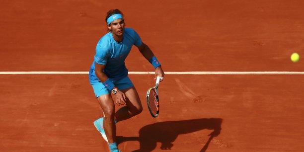 Rafael Nadal a gagné son 9e tournoi de Roland Garros et empoché 1,65 millions d'euros en simple l'année dernière.