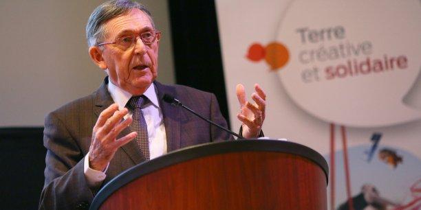 Claude Ducert, président du Sicoval