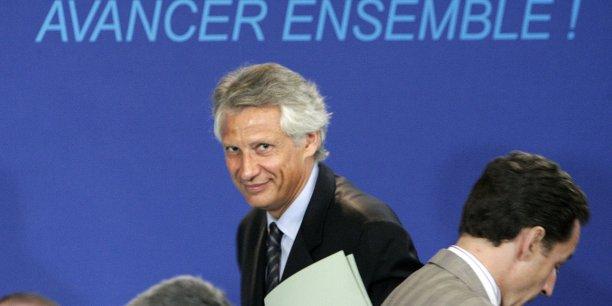 Les pôles de compétitivité ont été lancés en juillet 2005 par Dominique de Villepin, alors Premier ministre de Nicolas Sarkozy.