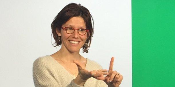 Marylène Charrière, directrice de la rédaction de Websourd-media
