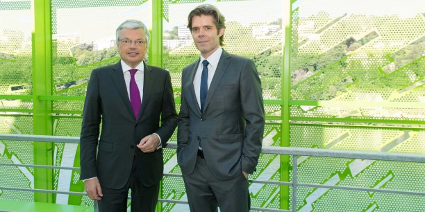Didier Reynders et Michael Peters.